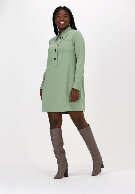 Groene OTTOD'AME Midi jurk ABITO  - large