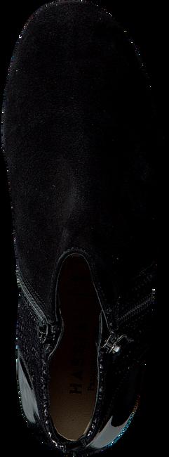 Zwarte HASSIA Enkellaarsjes 3484  - large