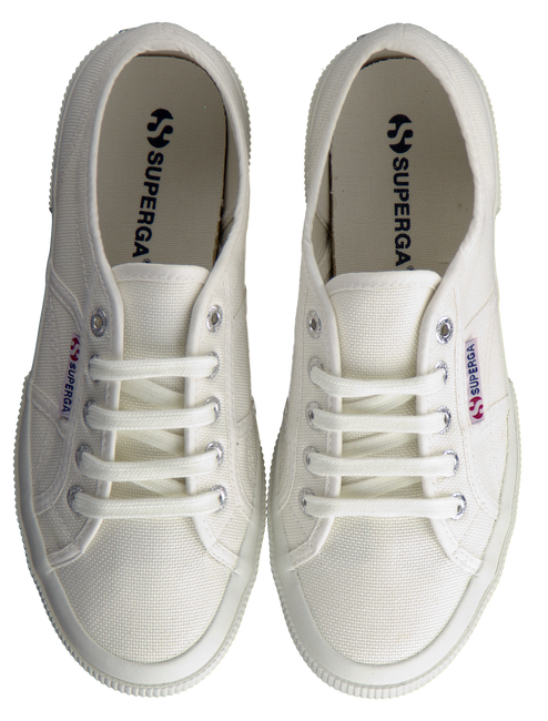 Witte SUPERGA Sneakers 2750 COTUCLASSIC - large