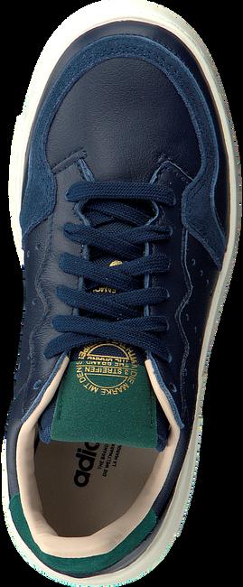 Blauwe ADIDAS Sneakers SUPERCOURT J  - large