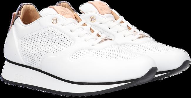 Witte FRED DE LA BRETONIERE Lage sneakers 101010215  - large
