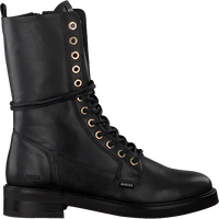 Zwarte NUBIKK Veterboots SARRAY DAY  - medium
