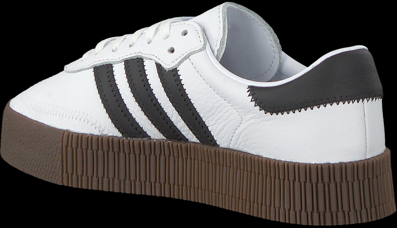 6b9a339a29d Witte ADIDAS Sneakers SAMBAROSE - Omoda.nl