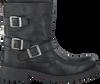 Zwarte OMODA Biker boots F-3885-R  - small