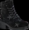 Zwarte NUBIKK Veterboots DALIDA STARS  - small