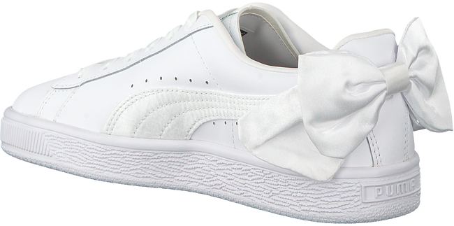 witte PUMA Sneakers BASKET BOW JR  - large