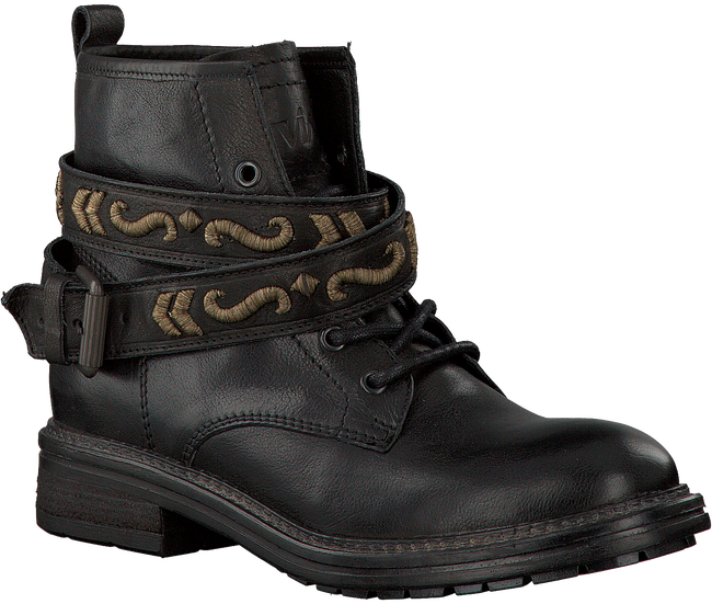 Zwarte VIA VAI Veterboots 4916133  - large