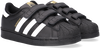 Zwarte ADIDAS Sneakers SUPERSTAR CF C  - small