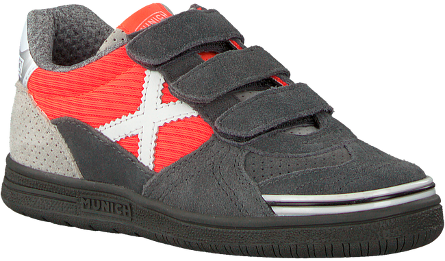 Grijze MUNICH Sneakers G-3 VELCRO - large