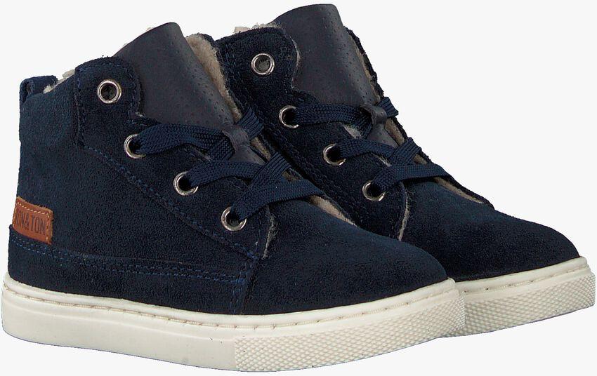 Blauwe TON & TON Hoge sneaker PL20W017  - larger