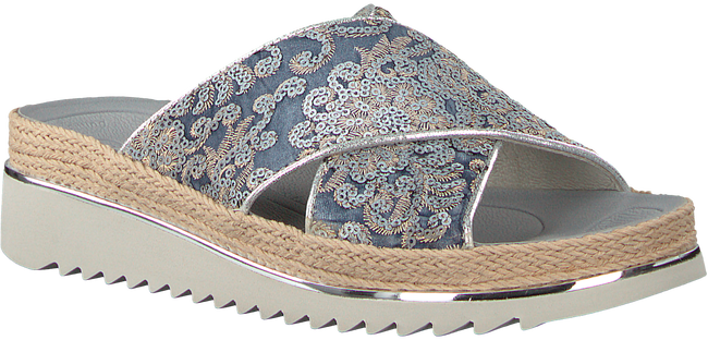 Blauwe GABOR Slippers 722.2 - large