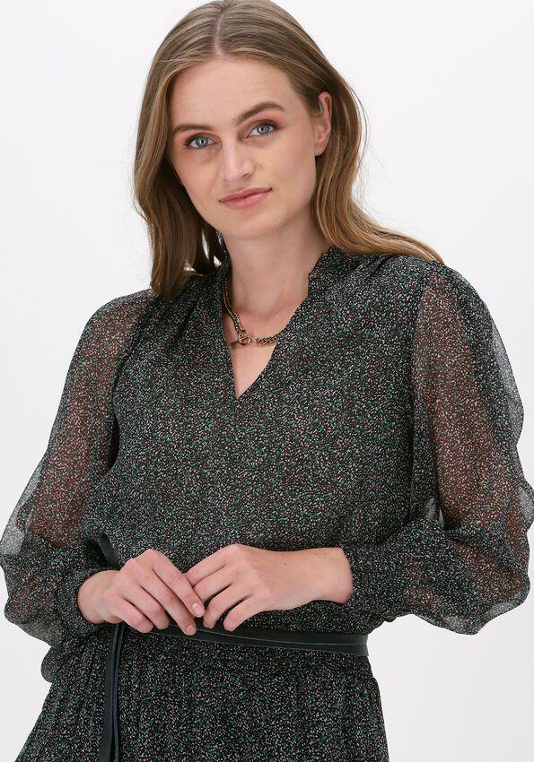 Groene NEO NOIR Mini jurk PORTO STONE CLOUD DRESS  - larger