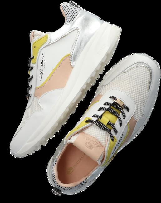 Witte FRED DE LA BRETONIERE Lage sneakers 101010207  - large