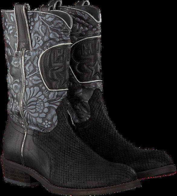 Zwarte HIP Lange laarzen H1213  - large