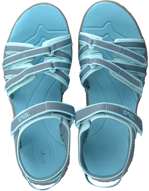 Blauwe TEVA Sandalen TIRRA KIDS - large