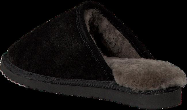 Zwarte WARMBAT Pantoffels CLASSIC UNISEX SUEDE  - large