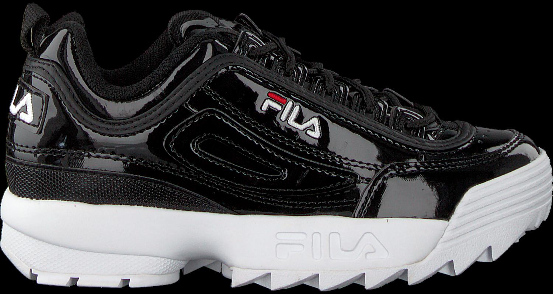 45b2877f639 Zwarte FILA Sneakers DISRUPTOR M LOW - Omoda.nl