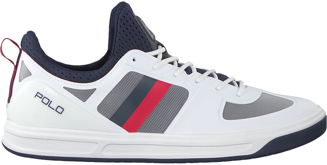 Witte POLO RALPH LAUREN Sneakers COURT200  - large