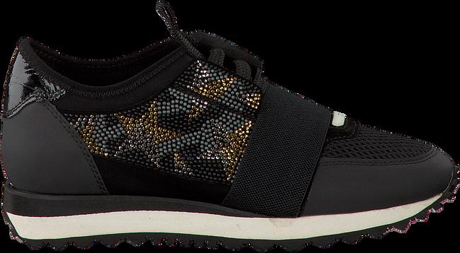 Zwarte LOLA CRUZ Sneakers DEPORTIVO BRILLO ESTRELLAS  - large