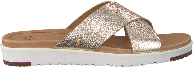 Gouden UGG Slippers KARI METALLIC  - large