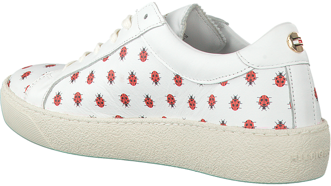 Witte TOMMY HILFIGER Sneakers S1285UZIE 12A  - large