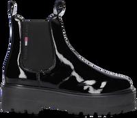 Zwarte TOMMY HILFIGER Chelsea boots PATENT CHELSEA  - medium