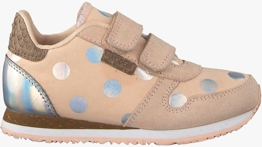 Roze WODEN Sneakers NORA DOT II KIDS  - larger