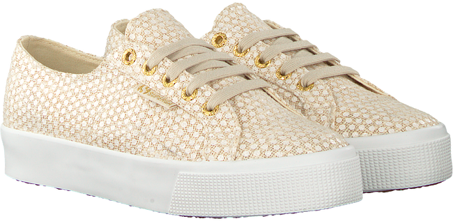 Blauwe SUPERGA Sneakers 2730 FANTASYCOTLINENW - large