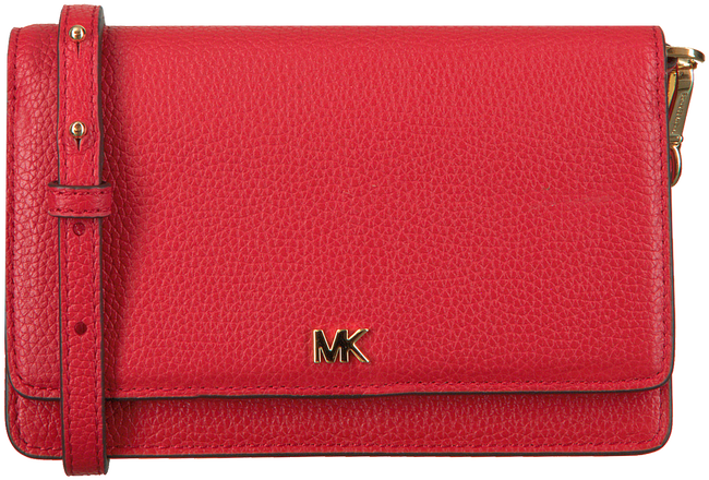 Rode MICHAEL KORS Schoudertas PHONE CROSSBODY  - large