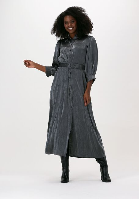 Zilveren SELECTED FEMME Maxi jurk SLFELKE-FLORENTA 3/4 ANKLE DRE - large