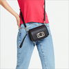 Zwarte GUESS Schoudertas ANNARITA MINI CROSSBODY FLAP  - small