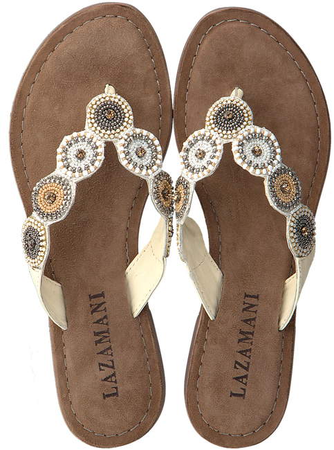 Witte LAZAMANI Slippers 75.451  - large