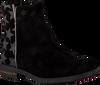 Zwarte ACEBO'S Enkellaarsjes 9513  - small