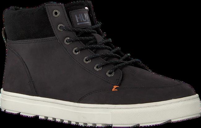 Zwarte HUB Hoge sneaker GLASGOW  - large