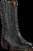 Zwarte SHABBIES Enkellaarsjes 192020067 SHS0437  - small