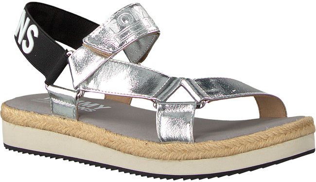 Zilveren TOMMY HILFIGER Sandalen FRESH MODERN METALLIC SAN - large