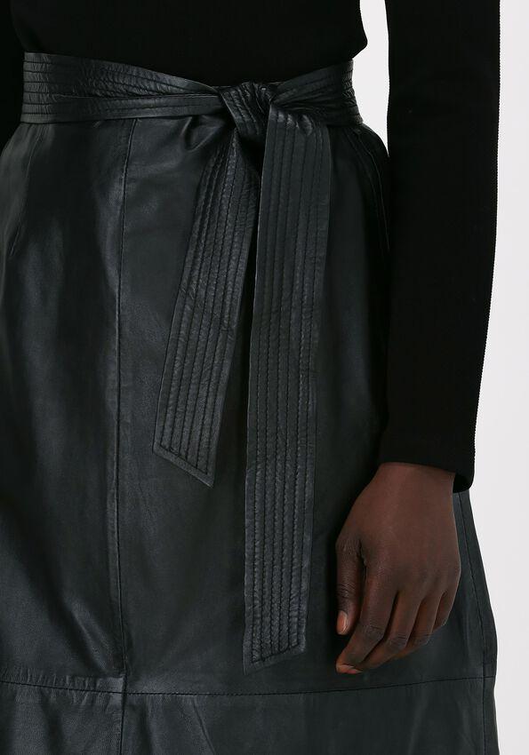 Zwarte IBANA A-lijn STACY  - larger