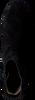 Zwarte HASSIA Enkellaarsjes 2872 - small