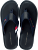 Blauwe TOMMY HILFIGER Slippers ELEVATED BEACH  - small