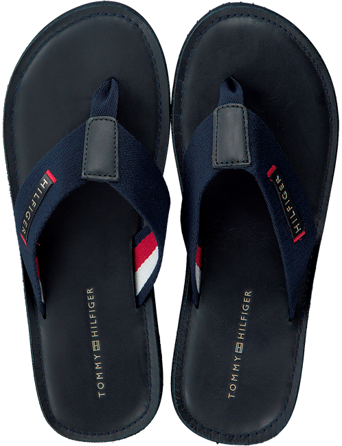 Blauwe TOMMY HILFIGER Slippers ELEVATED BEACH  - large