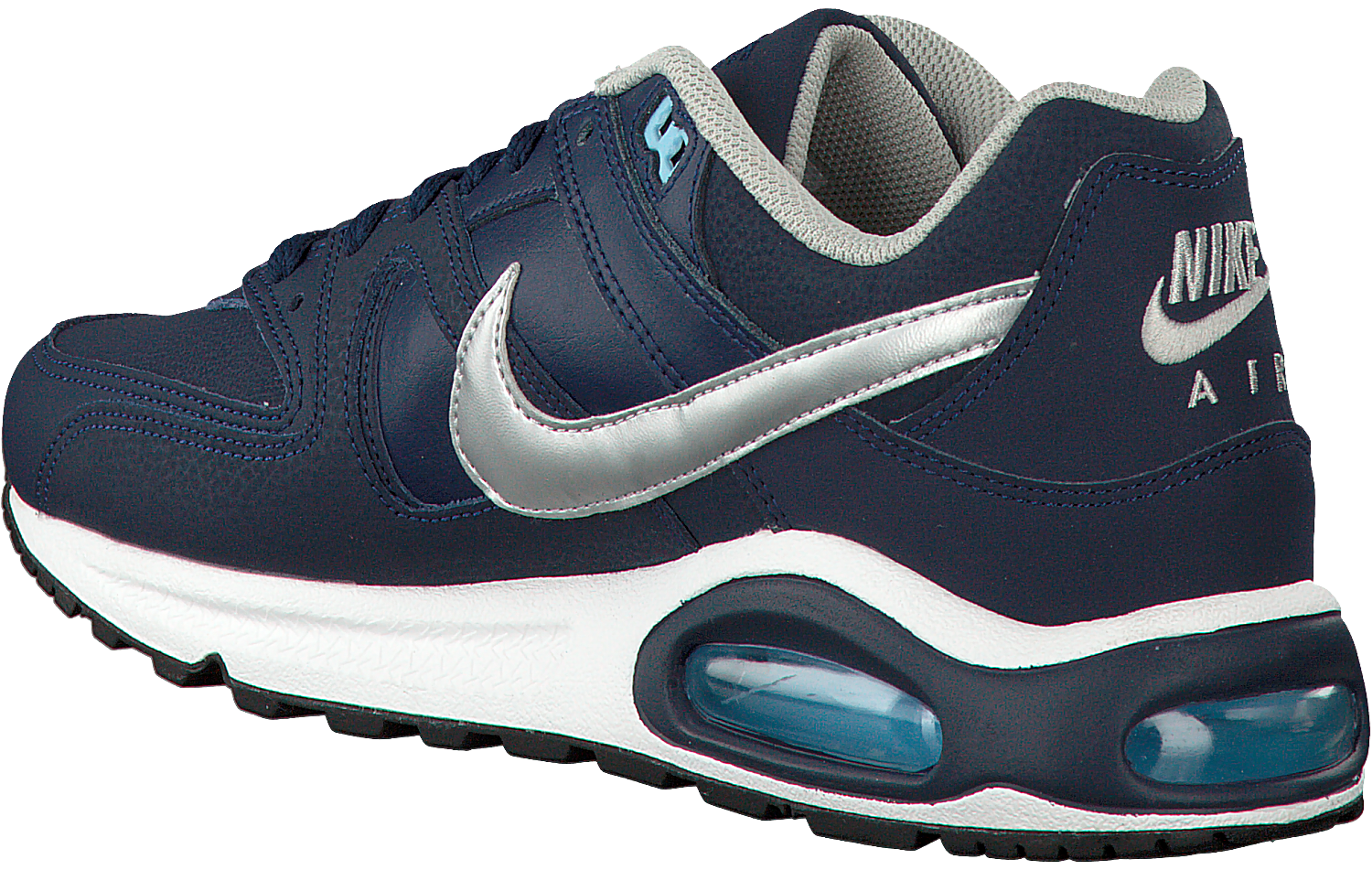Grijze NIKE Sneakers AIR MAX COMMAND LEATHER Omoda.nl