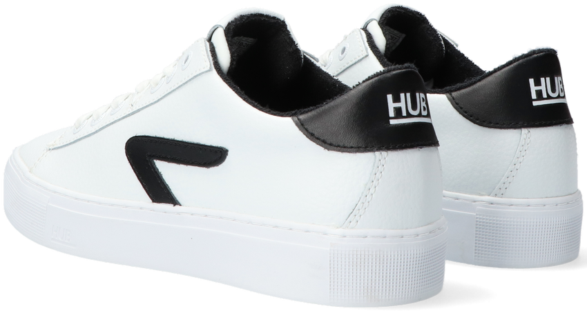Witte HUB Lage sneakers HOOK-Z  - larger