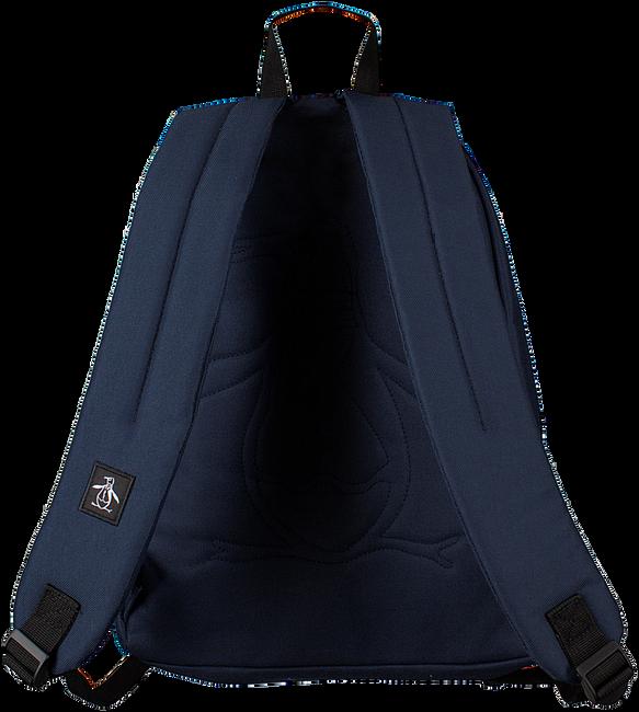 Blauwe ORIGINAL PENGUIN Rugtas HOMBOLD BLOCK BACKPACK - large