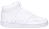 Witte NIKE Lage sneakers COURT VISION MID WMNS  - small