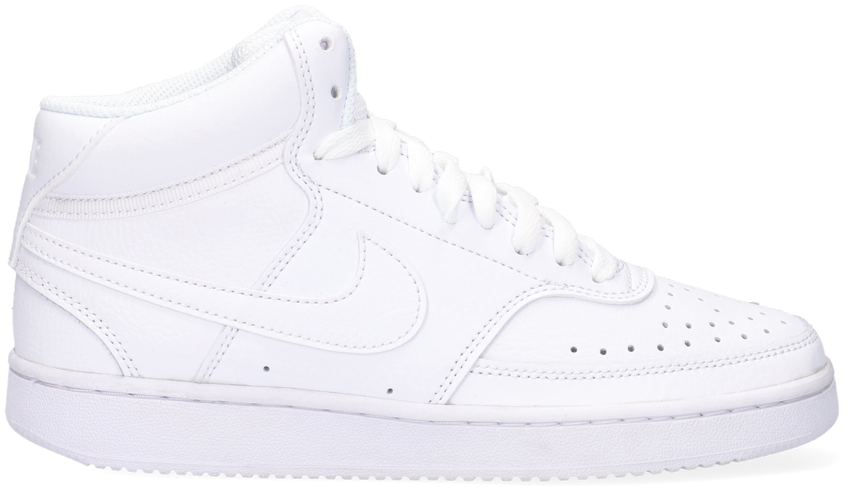 Witte NIKE Lage sneakers COURT VISION MID WMNS  - larger