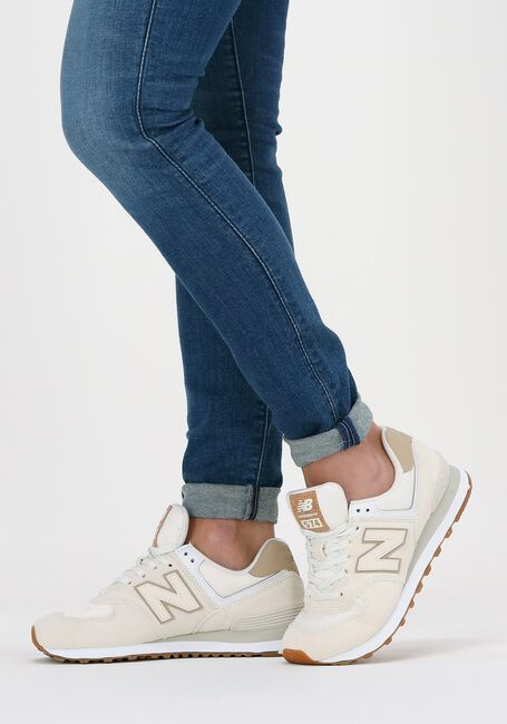 Beige NEW BALANCE Lage sneakers WL574  - large