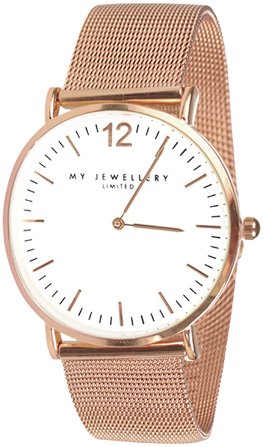 Gouden MY JEWELLERY Horloge MY JEWELLERY LIMITED WATCH - large