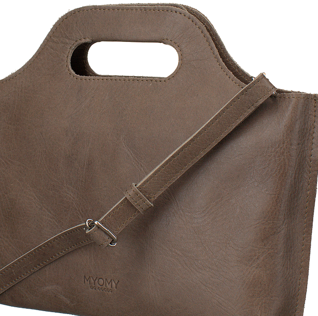Taupe MYOMY Handtas MY CARRY BAG HANDBAG - large