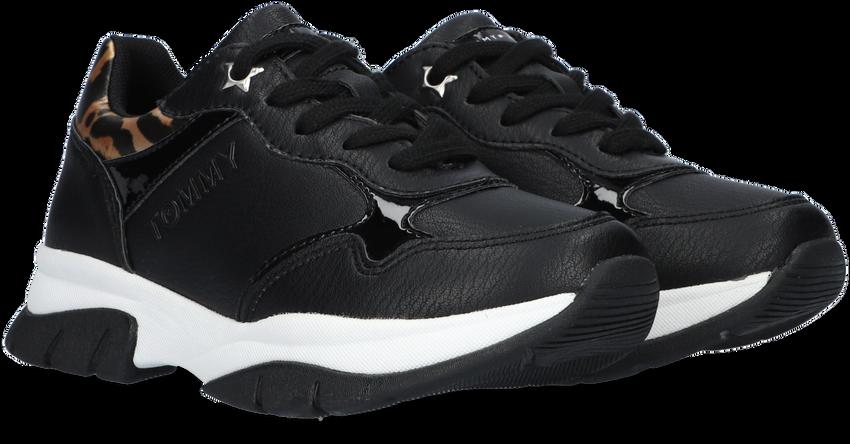 Zwarte TOMMY HILFIGER Lage sneakers 31173  - larger