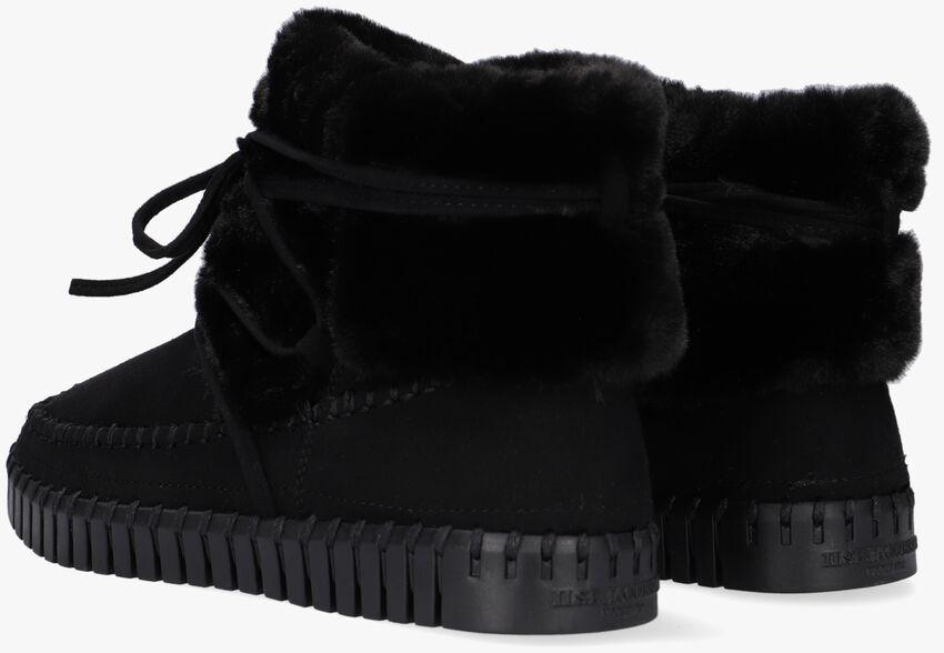 Zwarte ILSE JACOBSEN Pantoffels TULIP6072  - larger